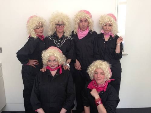The Tammy Whynettes with Tammy WhyNot (aka Lois Weaver), Wellcome Collection, 2015