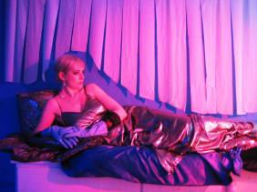 Laura Dee Milnes as Lou Lady in the Kabaret Toiletten, People Show 120: The Workshop (2009)