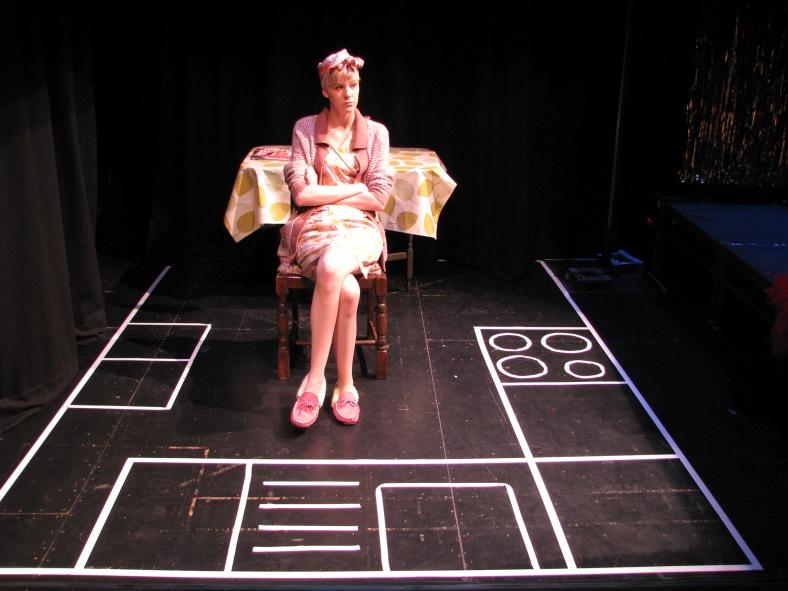 Rhiannon Wilkins as Number 23 in Number 23 by Laura Dee Milnes. Photo by Milda Sokolovaite