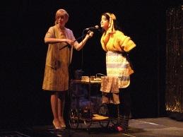 Laura Dee Milnes, Number 23 (2009). Neena Mohammed as Joyce. Photo by Milda Sokolovaite