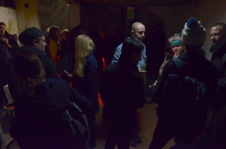 Crowd at Beg, Borrow, Steal #7, December 2015