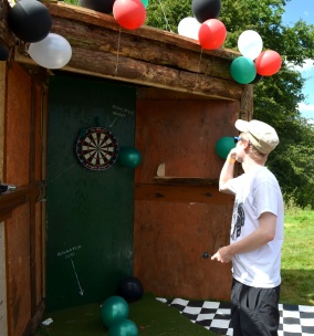 Laura Dee Milnes, Let's… Play… Darts. (2016). Participant at the ochre.